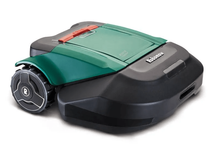 Liten robotgräsklippare